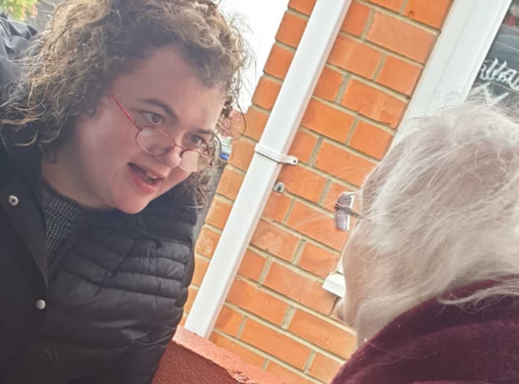 Charlotte is reunited with her grandma